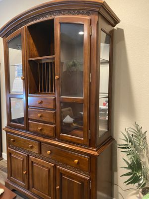 Woodleys Fine China Cabinet for Sale in Aurora, CO