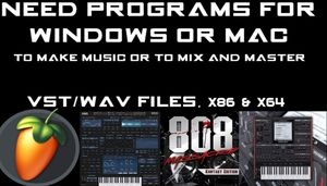 Windows Programs/ Vst/Plugins/Mixing/Mastering/VideoEditing/PhotoEditing TRADES ARE WELCOMED for Sale in Mercedes, TX
