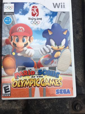 Wii Mario and Sonic at the Olympic Games for Sale in Dallas, TX