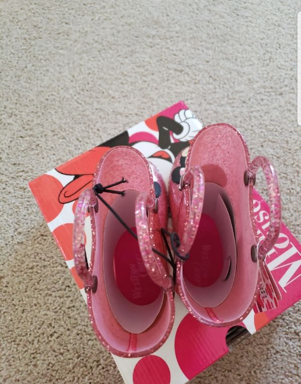 Disney Minnie Light up rain boots for kids