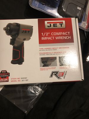 "Jet 1/2"" compact impact wrench for Sale in Aspen Hill, MD"