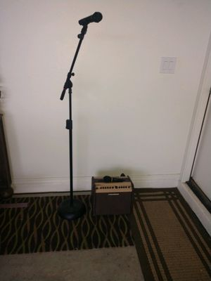 Microphone and amp for Sale in Gilbert, AZ