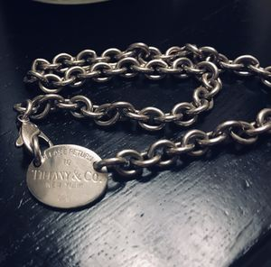 Vintage 925 Please Return to Tiffany and Co choker for Sale in Tulsa, OK