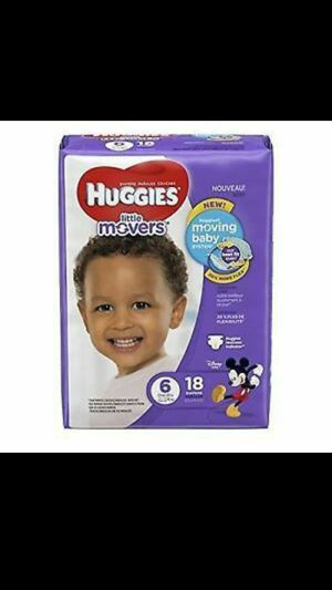 Huggies diapers Size 6 for Sale in Lakeland, FL
