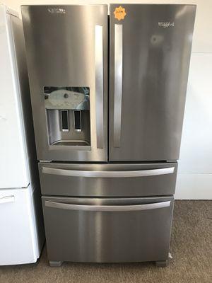 Brand new stainless steel 5 door refrigerator for Sale in Houston, TX