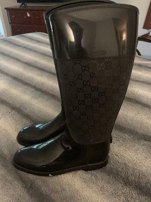 Gucci Rain Boots for Sale in Stone Mountain, GA