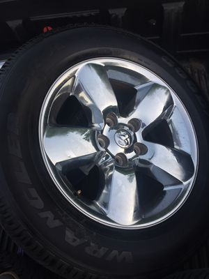 Tire and rim package from 2015 Ram for Sale in Berryville, AR