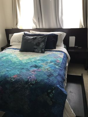 Bed frame with nightstands and drawers for Sale in Alexandria, VA