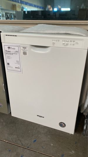 "New Whirlpool 24"" White Dishwasher with Year Warranty! for Sale in Chandler, AZ"