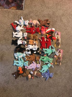 BEANIE BABIES TY ORIGINAL WITH TAGS for Sale in Denver, CO