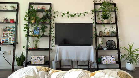 Crate&Barrel / CB2 Ladder Leaning Shelf with Desk / Bookcase for Sale in San Francisco,  CA