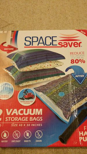 Vacuum storage bags with pump brand new for Sale in Austin, TX