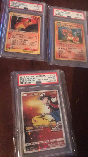 Pokemon PSA Cards for Sale in Pasadena, TX