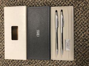 Cross Classic Century Medium NIB Ballpoint Pen and Pencil Set, Lustrous Chrome for Sale in Victoria, TX
