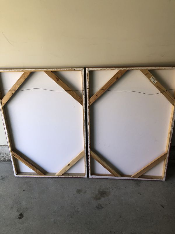 Canvas artwork (3 pieces)