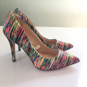 Prabal Gurung for Target 🌈 Rainbow Multicolored Pumps High Heels Size for Sale in Gardena, CA