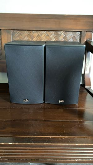 Polk Audio Surround Sound set up. With Denon 7.1 Receiver for Sale in Carlsbad, CA
