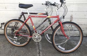 Vintage red Peugeot mountain bike 19 inch for Sale in Los Angeles, CA