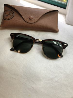 Brand New Ray Ban Clubmasters Sunglasses in Tortoise for Sale in West Los Angeles, CA