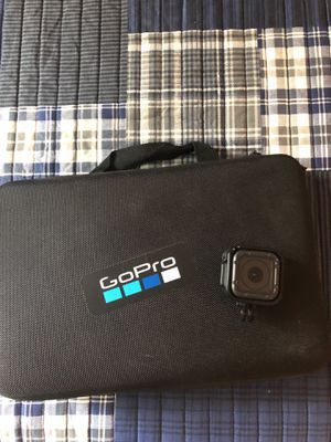 GoPro Hero5 Session with case and accessories for Sale in St. Peters, MO