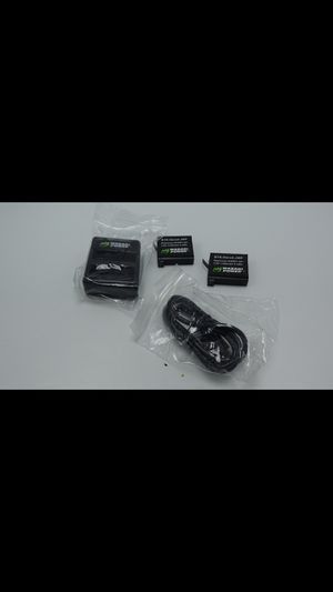 Wasabi Power Battery (2-Pack) and Dual Charger for GoPro HERO4 for Sale in Bellevue, WA