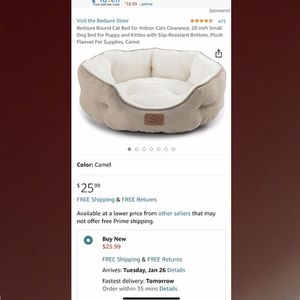 Pet Bed for Sale in San Lorenzo, CA