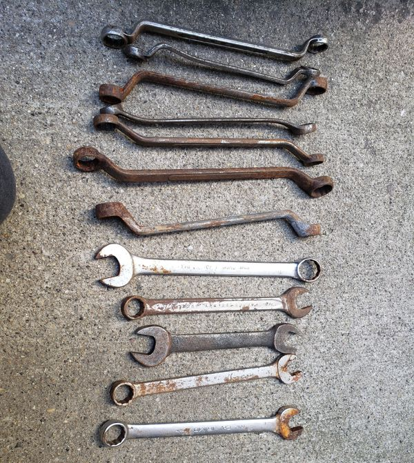 wrenches lot