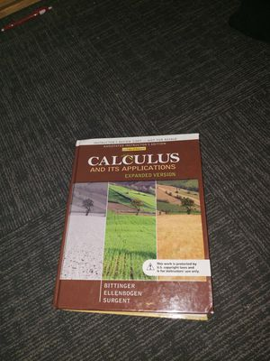 Instructors Copy of Calculus Textbook for Sale in Fairfax, VA