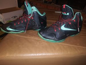 Lebron James Nike Men shoes size 12 for Sale in Dallas, TX