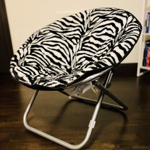 Zebra Foldable Chair for Sale in Fullerton, CA