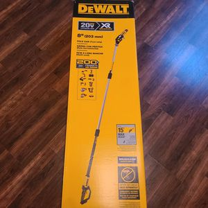 Dewalt 20-Volt MAX XR Lithium-Ion Cordless Brushless 8in POLE SAW (Tool-Only) for Sale in Harlingen, TX