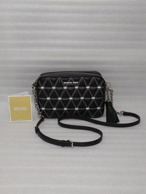 Michael Kors handbag crossbody. Black leather. Brand new with tags. Retail $248 for Sale in Suffolk, VA