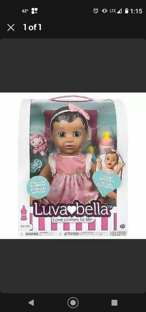 Luvabella doll used goes for 200$ new for Sale in Oregon City, OR