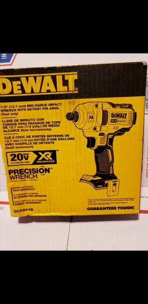 "Dewalt 20v xr mid-range 1/2"" impact wrench. Tool-only for Sale in Visalia, CA"