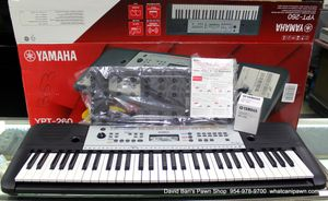 Yamaha YPT-260 61-Key Portable Keyboard - NEW for Sale in North Lauderdale, FL