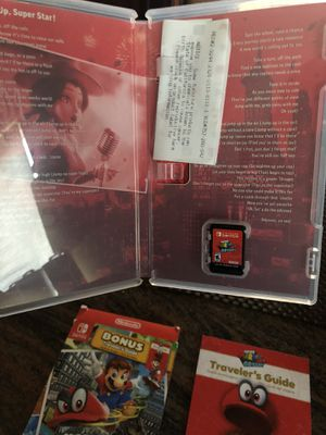 Super Mario odyssey Nintendo switch like new ! for Sale in Rolling Hills Estates, CA