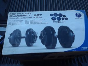 40 lb dumbbell set for Sale in Los Angeles, CA