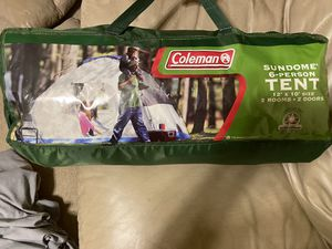 Coleman Camping Tent for 6 people for Sale in Katy, TX