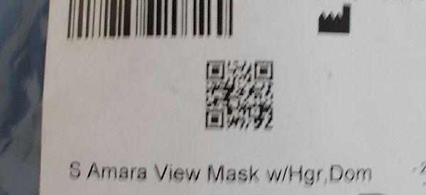NEW Philips Amara View S SMALL Mask w Headgear Complete Sealed 1090622