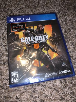 PS4 Call of Duty Black Opps 4 for Sale in Tallahassee, FL
