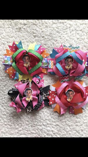 Baby Moana bow clips $3 each or all 4 for $10 for Sale in Chula Vista, CA