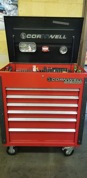 Cornwell Box Loaded With Tools for Sale in Houston, TX