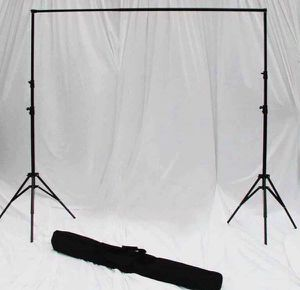 Brand New Adjustable Backdrop Stand Available in 2 sizes 10x6ft and 10x8ft for Sale in Chino, CA
