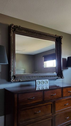 Ornate Mirror - Solid Wood Carving for Sale in Scottsdale, AZ