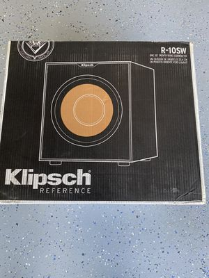 "Klipsch Reference R-10SW 10"" 300w Powered Subwoofer for Sale in San Jose, CA"