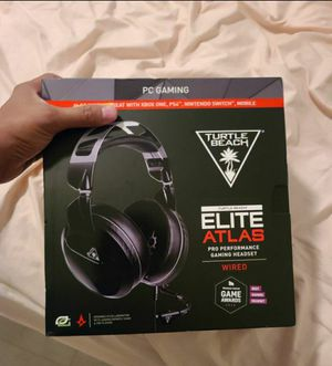 NEW Turtle Beach Elite Atlas Gaming Headset, Wired , for Xbox One, PC, Mobile, Playstation 4 for Sale in Miami, FL
