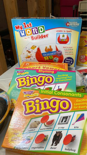 Educational elementary level games for Sale in Lithia Springs, GA