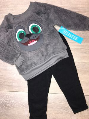 Baby Boy Clothing Disney Sweater & Carter's Pants 2T Set $8 for Sale in Long Beach, CA