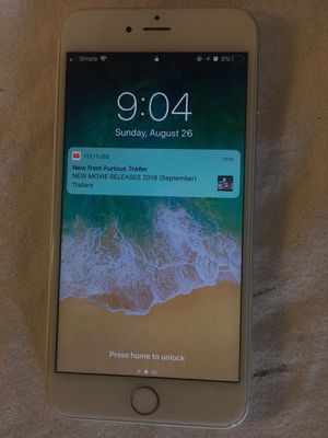 Iphone 6 plus excellent condation for Sale in Ashburn, VA