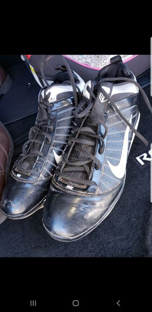 Size 11 Nike cleats used like new used once for Sale in Las Vegas, NV
